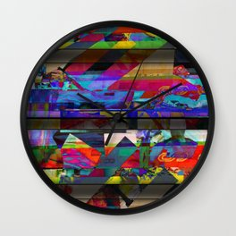 Flying By Wall Clock