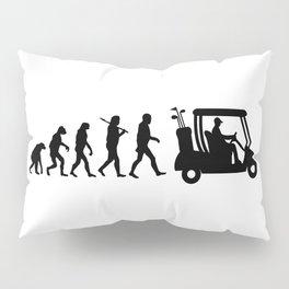 Evolution - golf  black&white Pillow Sham