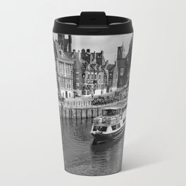 King's Staith beside the river Ouse Travel Mug