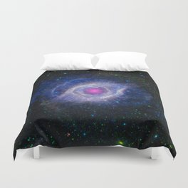 The Helix Nebula Duvet Cover