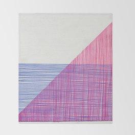 Line Art 2 Throw Blanket