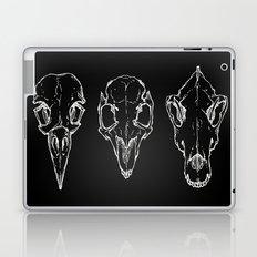Raven, Rabbit, Wolf - Skulls Laptop & iPad Skin