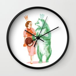 Bestial love Wall Clock