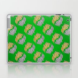 Gold and Silver Dragons of the Jade Palace Laptop & iPad Skin