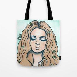 groovy girl Tote Bag