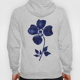 Blue & White Flower - 1 Hoody