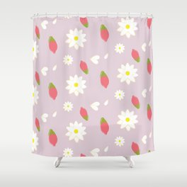 Wolfberry Chamomile  Shower Curtain