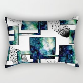 Galaxy Geometric Pattern 34 Rectangular Pillow