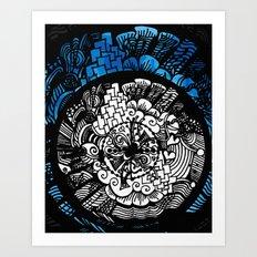 City Flower Art Print