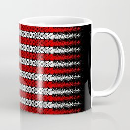 Bike USA Flag Coffee Mug