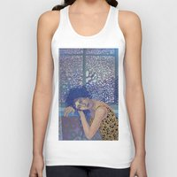 window Tank Tops featuring Window by doviArt