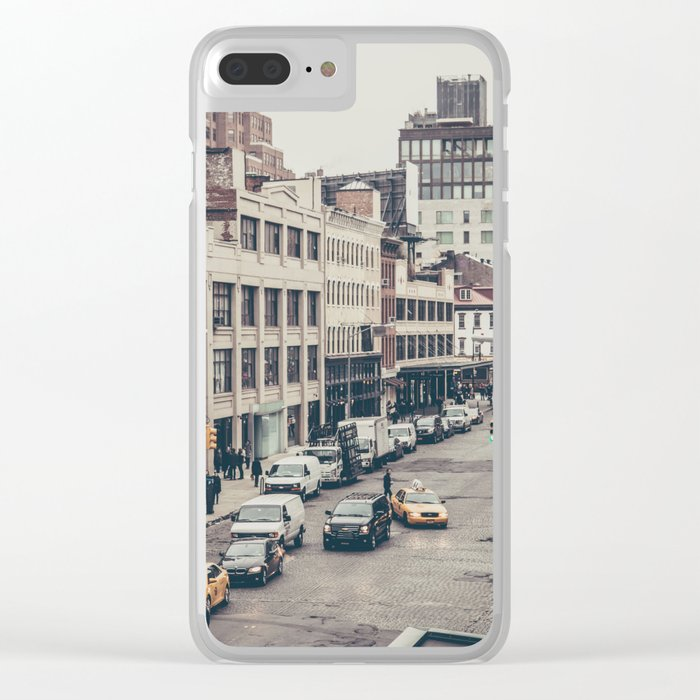 Tough Streets - NYC Clear iPhone Case