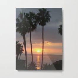 California Palms Metal Print