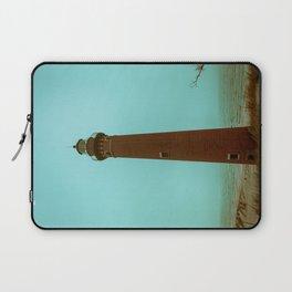 Little Sable Point Lighthouse Beach Brick Light Tower Lake Michigan Laptop Sleeve