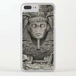 The Lost Tomb Clear iPhone Case