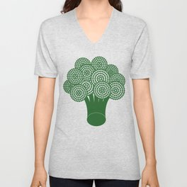 Broccoli Unisex V-Neck