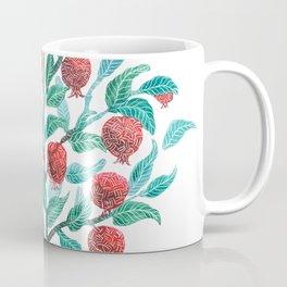 Persephone- Pomegranate Tree on White Coffee Mug