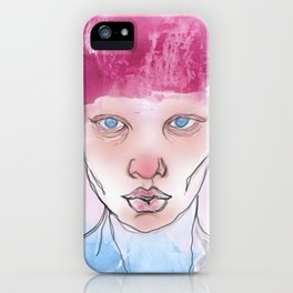 Untitled ( Study of a Woman ) iPhone Case