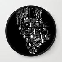 manhattan Wall Clocks featuring Manhattan by Robert Farkas
