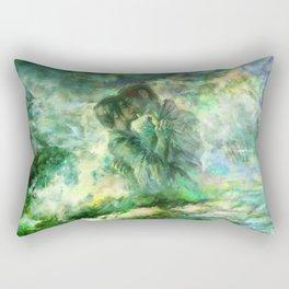 Rice Fields Forever Rectangular Pillow