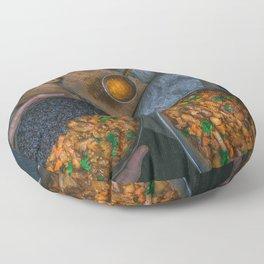 Best Damn Coconut Curry Floor Pillow