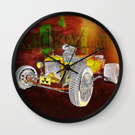 Radioactive Rod Wall Clock