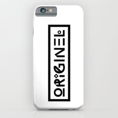 Originel noir iPhone 6s Slim Case