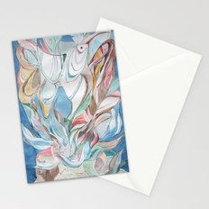 Spring blues Stationery Cards