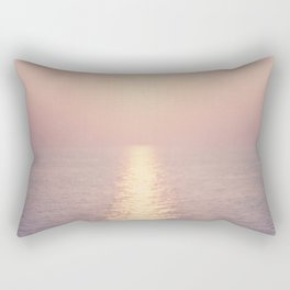 cashmere rose sunset Rectangular Pillow