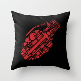 Create & Destroy Throw Pillow