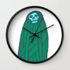 Happy Ghost Wall Clock
