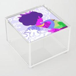 Queen's Robe Acrylic Box