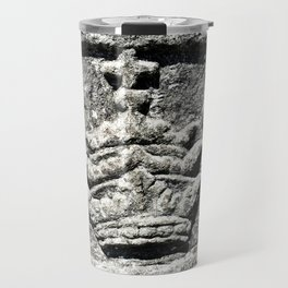 Ancient Church Carvings Travel Mug