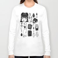 loll3 Long Sleeve T-shirts featuring teen Witch by lOll3