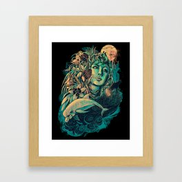 Gaia Framed Art Print