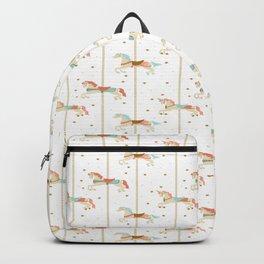 Carousel Horses Backpack