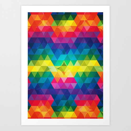 colorplay Art Print