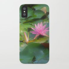 lilly pad iPhone X Slim Case
