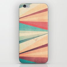 Vintage Beach iPhone Skin