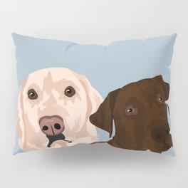 2 Labradors Pillow Sham