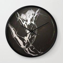 Flowing Bird/Empowering Motion Wall Clock