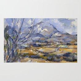 1890 - Paul Cezanne -Montagne Sainte-Victoire Rug