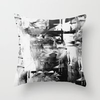 kurt rahn Throw Pillows featuring Kurt by nicebleed