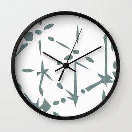 Graphic M1 Wall Clock