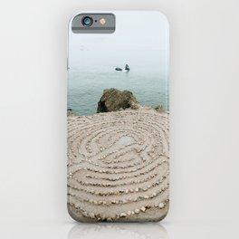 Lands End Labyrinth, San Francisco II iPhone Case