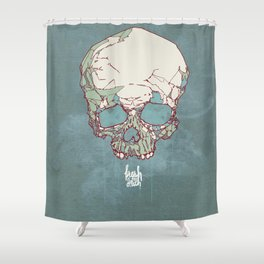 Fresh to Death Shower Curtain
