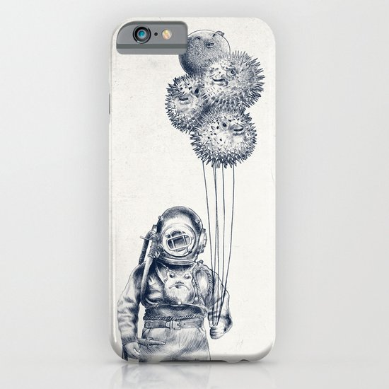 Balloon Fish - monochrome option iPhone & iPod Case