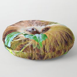 Awesome Sloth Floor Pillow