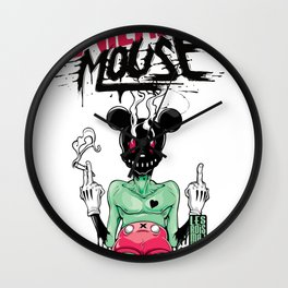 The Death of Mickey Mouse Wall Clock