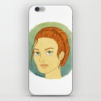 lydia martin iPhone & iPod Skins featuring lydia martin by billa
